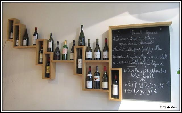 Restaurant Jaja, antre du vin carte, rue sainte-croix de la Bretonnerie Paris 3ème, carte des vins jaja