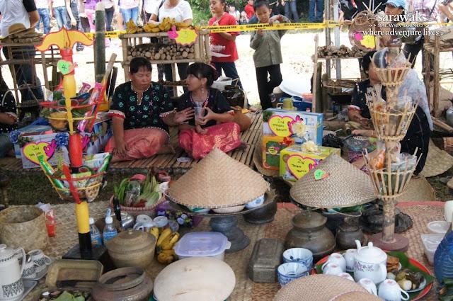 Bisaya Buffalo Race Festival in Limbang Sarawak Bisaya handicrafts