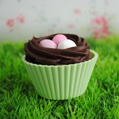 easter cupcakes ideas kids. Easter Nest Cupcakes from