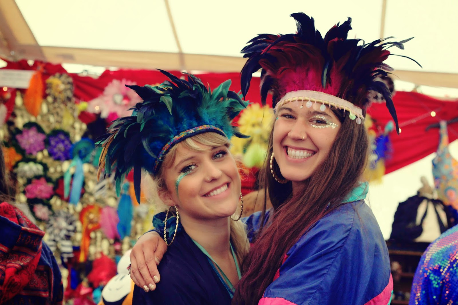 Dulcie Feather, festival style, The Fashpack, Shambala