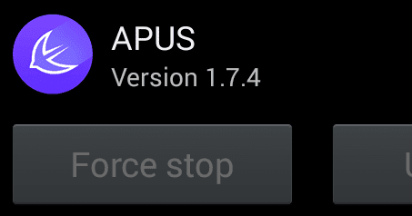 how to uninstall apus