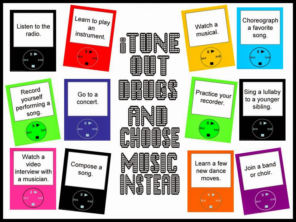 http://www.teacherspayteachers.com/Product/iTune-Out-Drugs-and-Choose-Music-Instead-777955