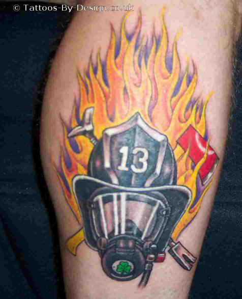 Tattoos design firefighter tattoos designs pictures and ideas