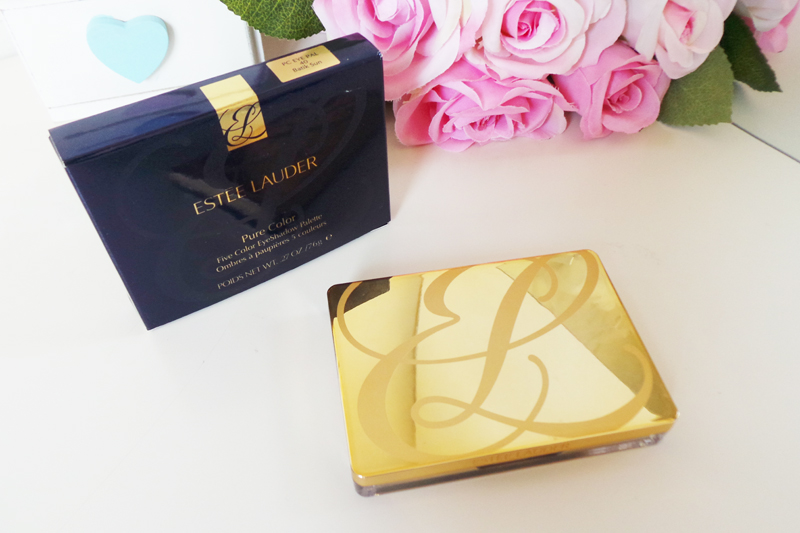 Estee Lauder | Pure Color Five Color Eyeshadow Palette in 40 Batik Sun Review, beauty blog, bbloggers, uk beauty blog, bbloggersuk, make up reviews, make up blog,