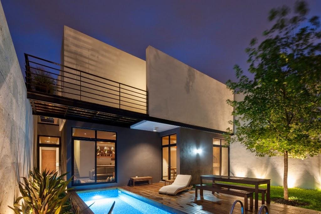 rumah minimalis dengan taman belakang majalah rumah