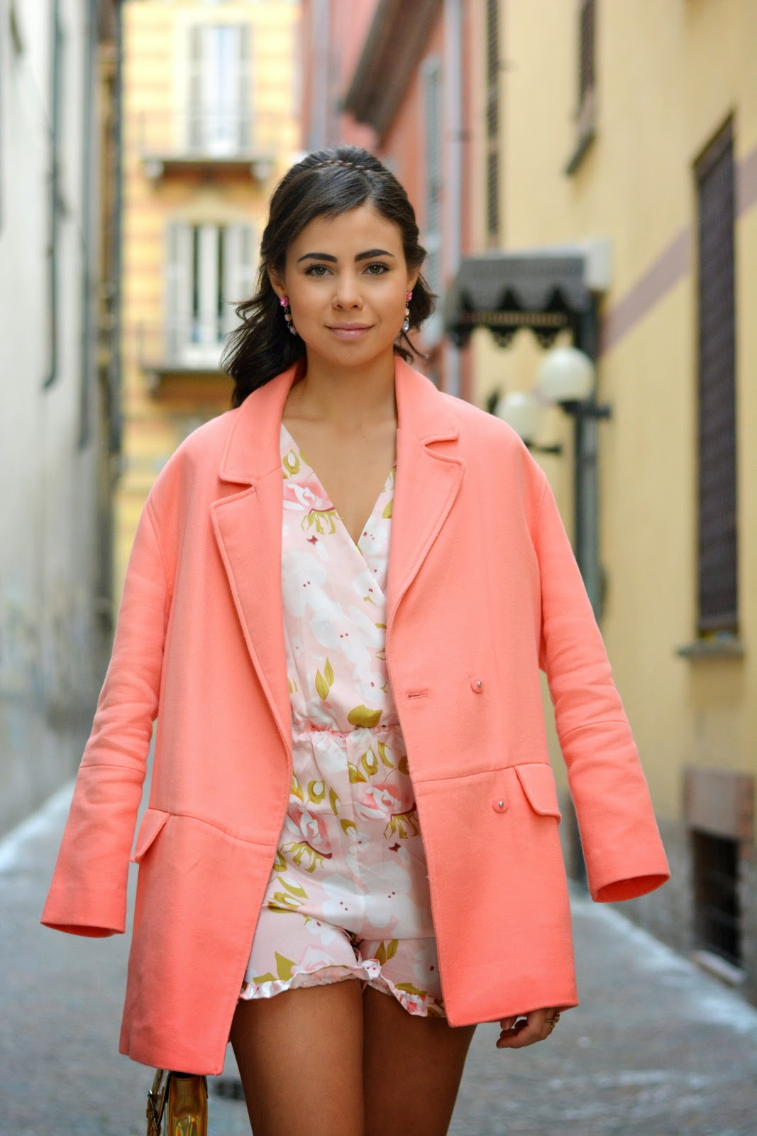Floral Playsuit - YoYo Melody -  Outfit - Fashion Blogger - Juliane Borges