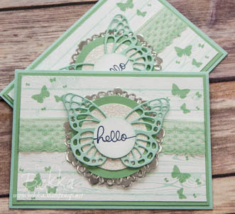 Hello and welcome to Stampin' Up! Pretty Hello Card for New Stampin' Super Stars - find out about it here
