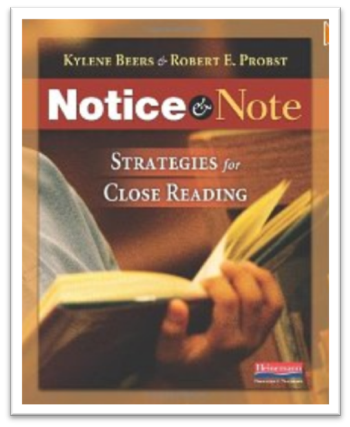 http://www.amazon.com/Notice-Note-Strategies-Close-Reading/dp/032504693X/ref=sr_1_1?s=books&ie=UTF8&qid=1391312826&sr=1-1