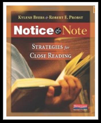 http://www.amazon.com/Notice-Note-Strategies-Close-Reading/dp/032504693X/ref=sr_1_1?s=books&ie=UTF8&qid=1391312826&sr=1-1