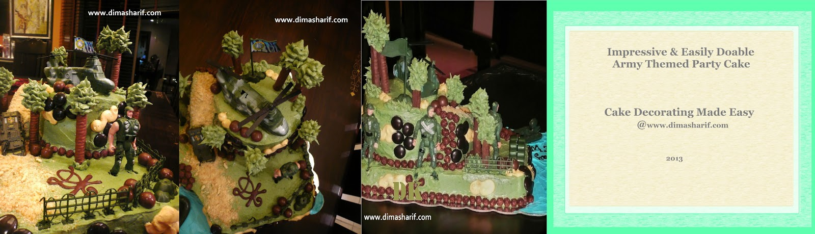 Not a professional cake decorator cake decorating cheats for Army cake decoration