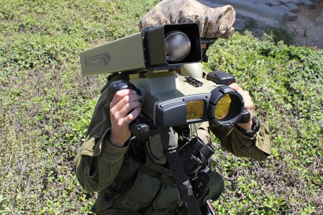 Mini Spike missile