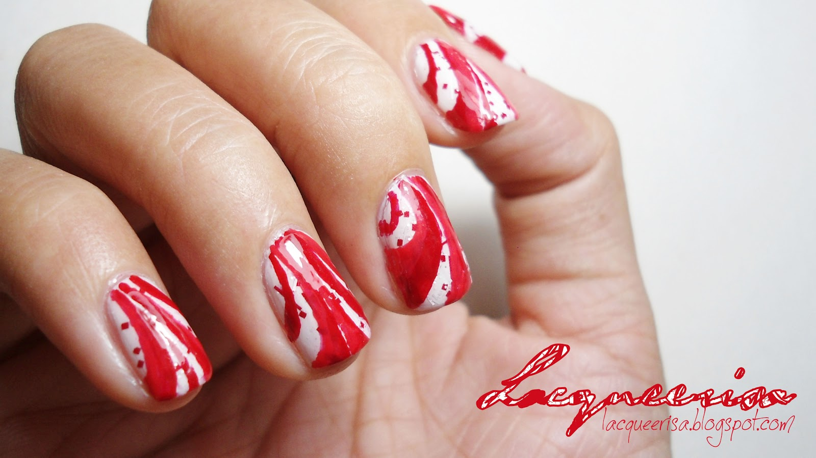 Lacqueerisa: Peppermint Candy Canes
