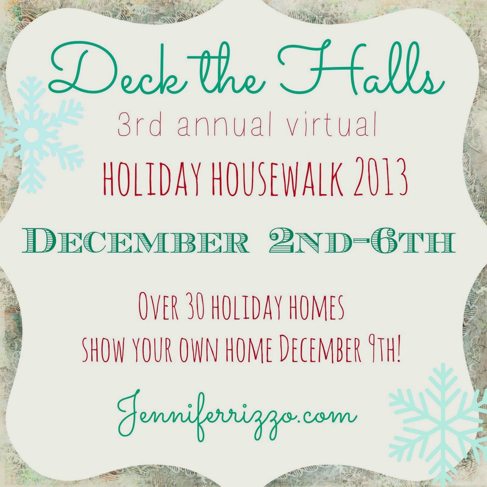 2013 HOLIDAY HOUSEWALK