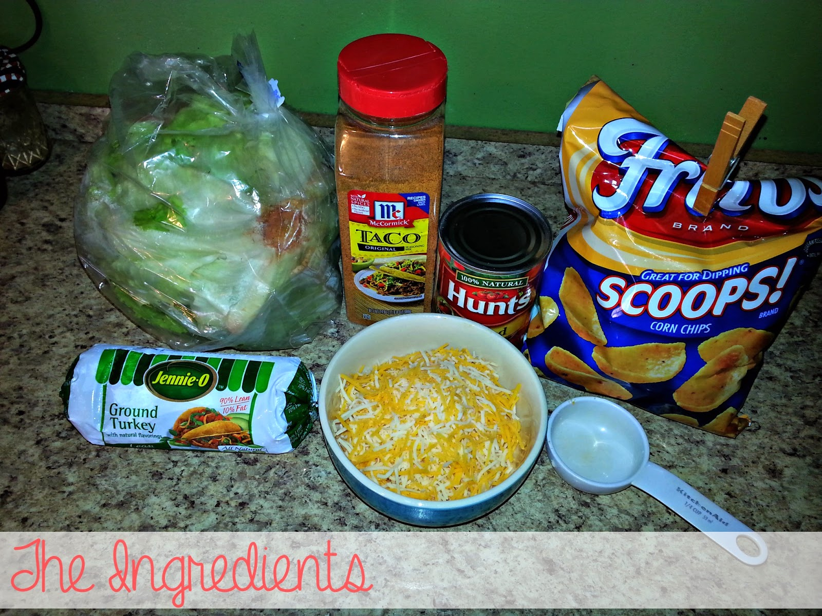 A simple meal to make in under 20 minutes. Frito Taco Salad will be a crowd favorite! www.blissfulanddomestic.com