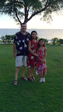 Our Family at the Luau