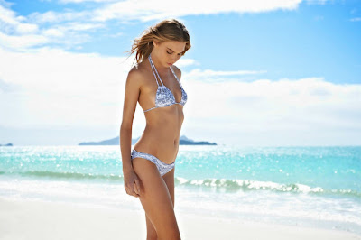 hot Australian model Avril Alexander stunning in Mikoh sexy bikini