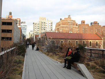 NYC High Line in Winter