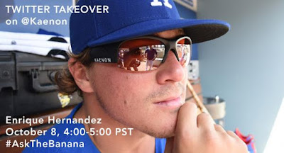 Kiké Hernandez Answered Fans Questions on the Tweet Seat