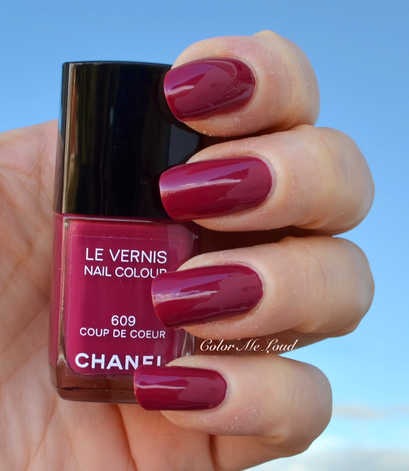 Chanel Le Vernis #609 Coup de Coeur Nail Polish from Variations ...
