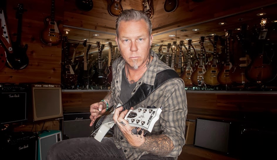 James Hetfield - Guitar Center - Metallica