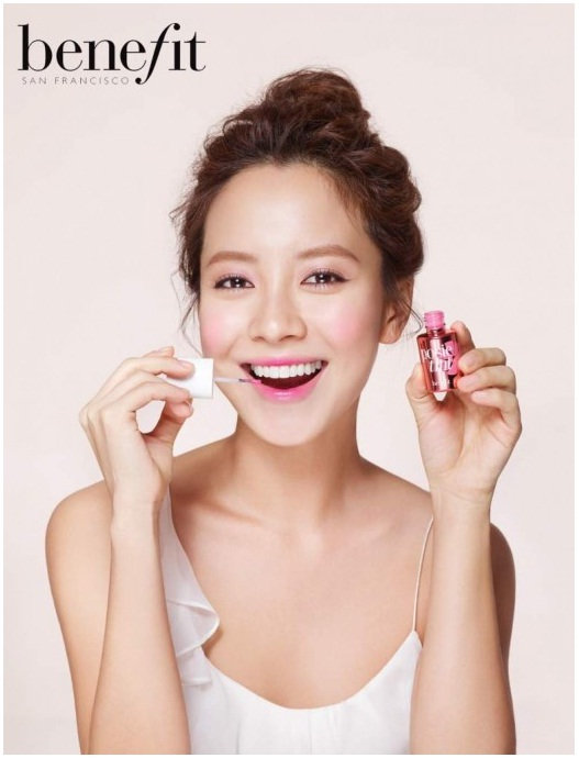 Sally Sayz: Beauty Inspiration: Song Ji Hyo for Benefit Comsetics
