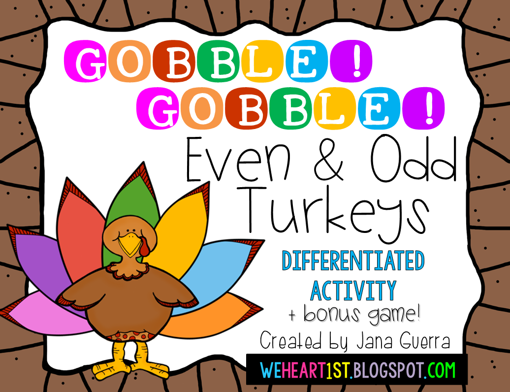 http://www.teacherspayteachers.com/Product/Even-and-Odd-Turkeys-Thanksgiving-Fun-1545244