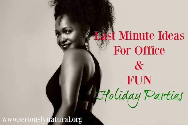 Last Minute Ideas For Office & Fun Holiday Parties