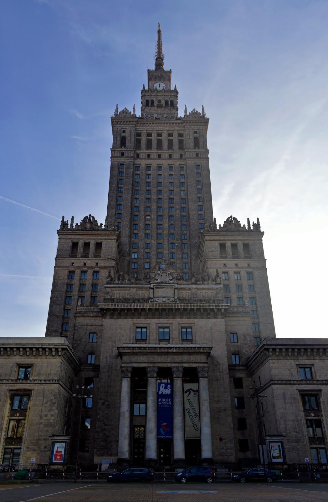 Warszawa Pałac Kultury i Nauki