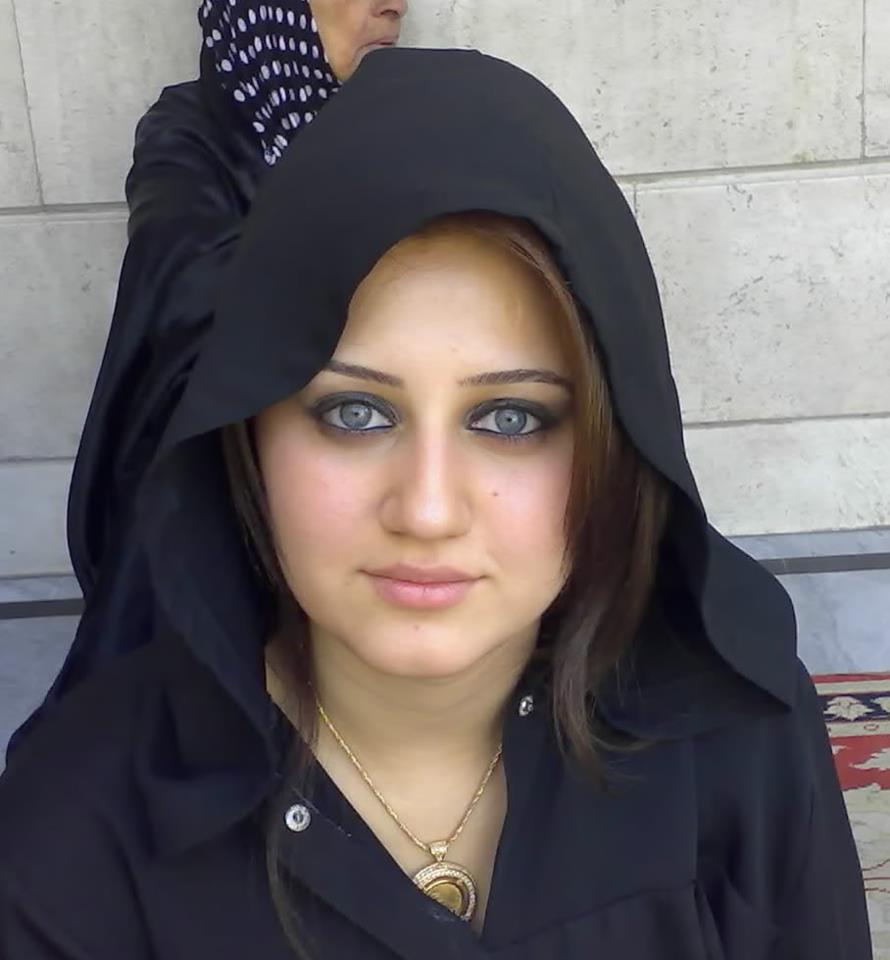 Beauty Queens Green Eyes Of Arab Girl