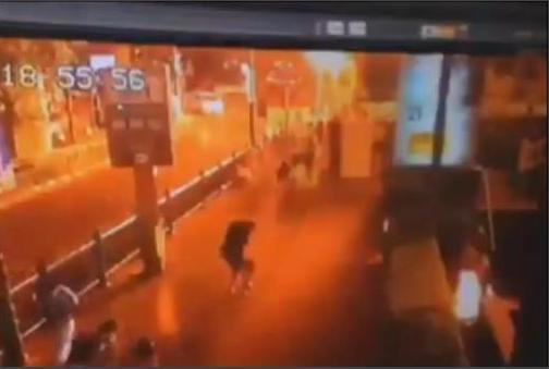 El vídeo del atentado de Bangkok