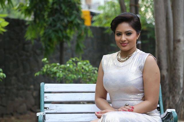 Nikesha Patel Stills At Narathan Movie Press Meet