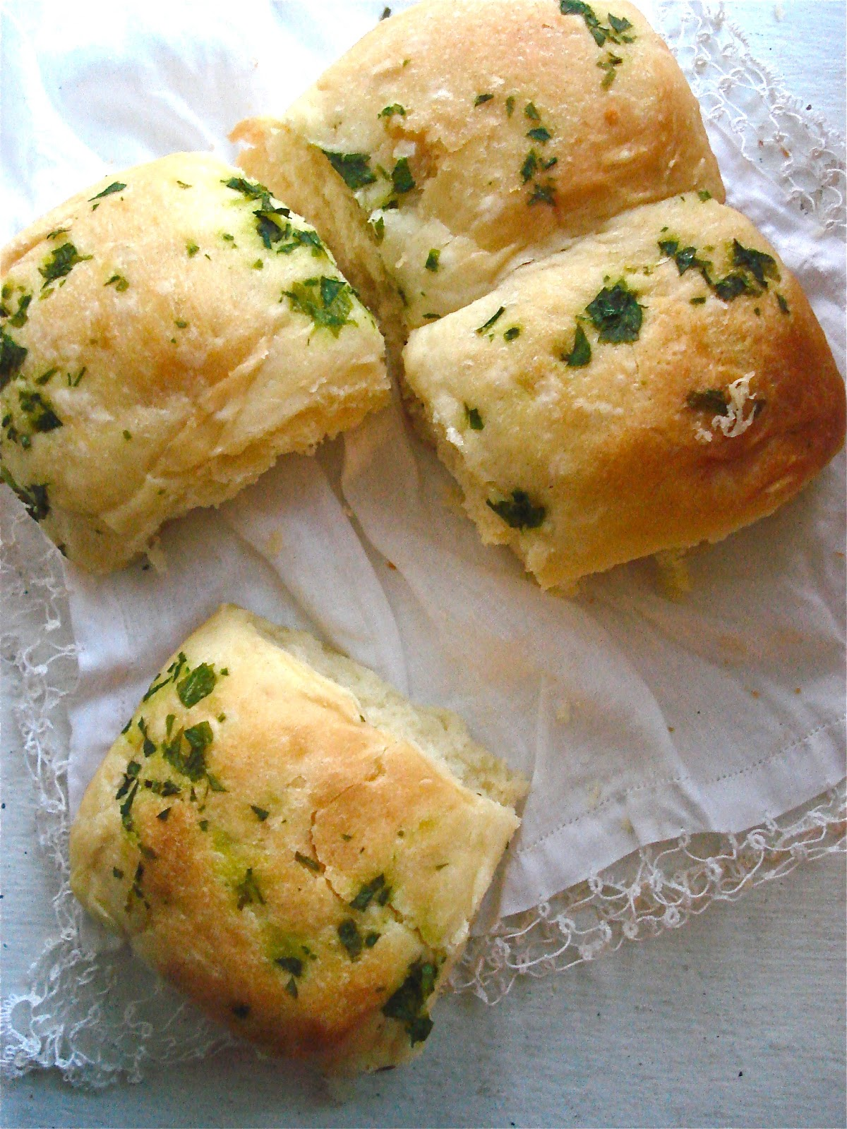 ... By Any Other Name: Channel Your Inner Fancy: Eat Parker House Rolls
