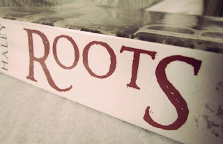 Roots, book cover, spine, new edition, published, Alex Haley, genealogy, slavery, middle passage, review