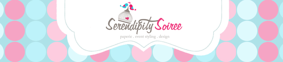 Serendipity Soiree:paperie. event styling. design