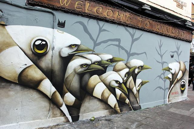 Ana Maria Graffiti Ana Maria Creates a Series of