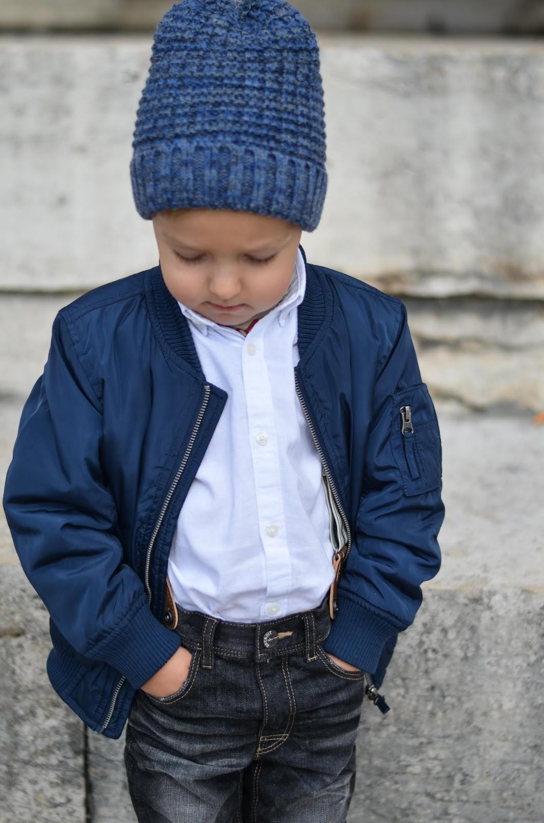 boy toddler fall style lindex bomber jacket zara beanie