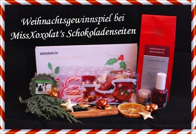 Weihnachtsgewinnspiel MissXoxolat's Schokoladenseiten