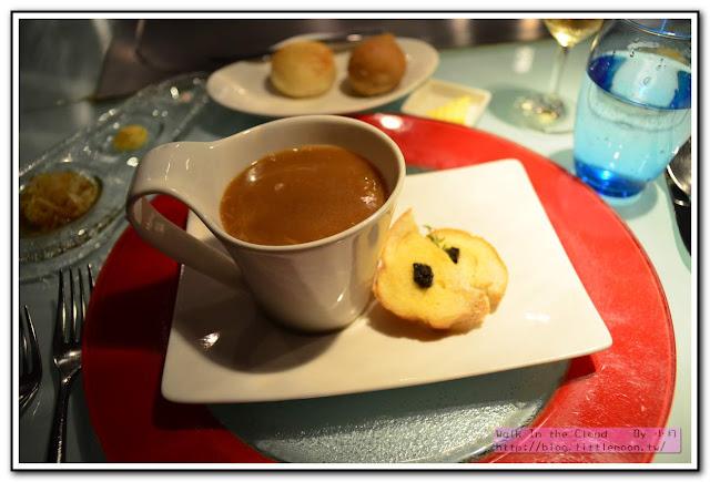 夏慕尼新香榭鐵板燒 - 松露洋蔥湯