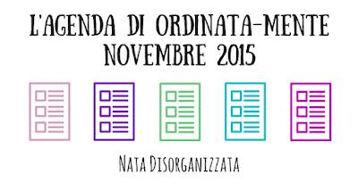 planner ordinata-mente novembre 2015