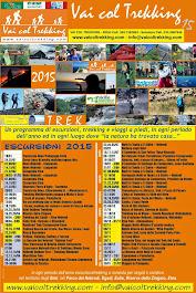 Calendario Trekking ed Escursioni 2015