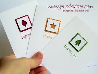 http://juliedavison.blogspot.com/2012/08/punched-merry-mini-notecards.html