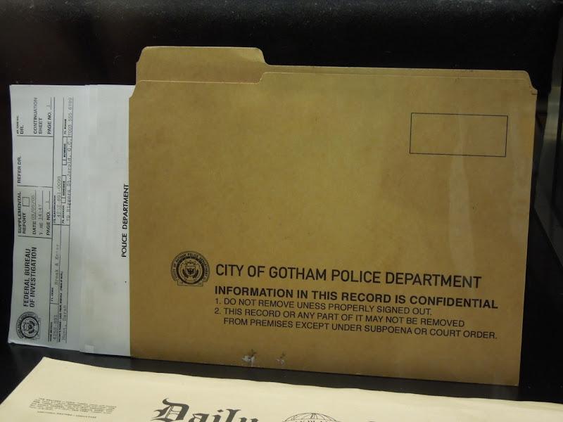 Batman Begins Gotham police prop