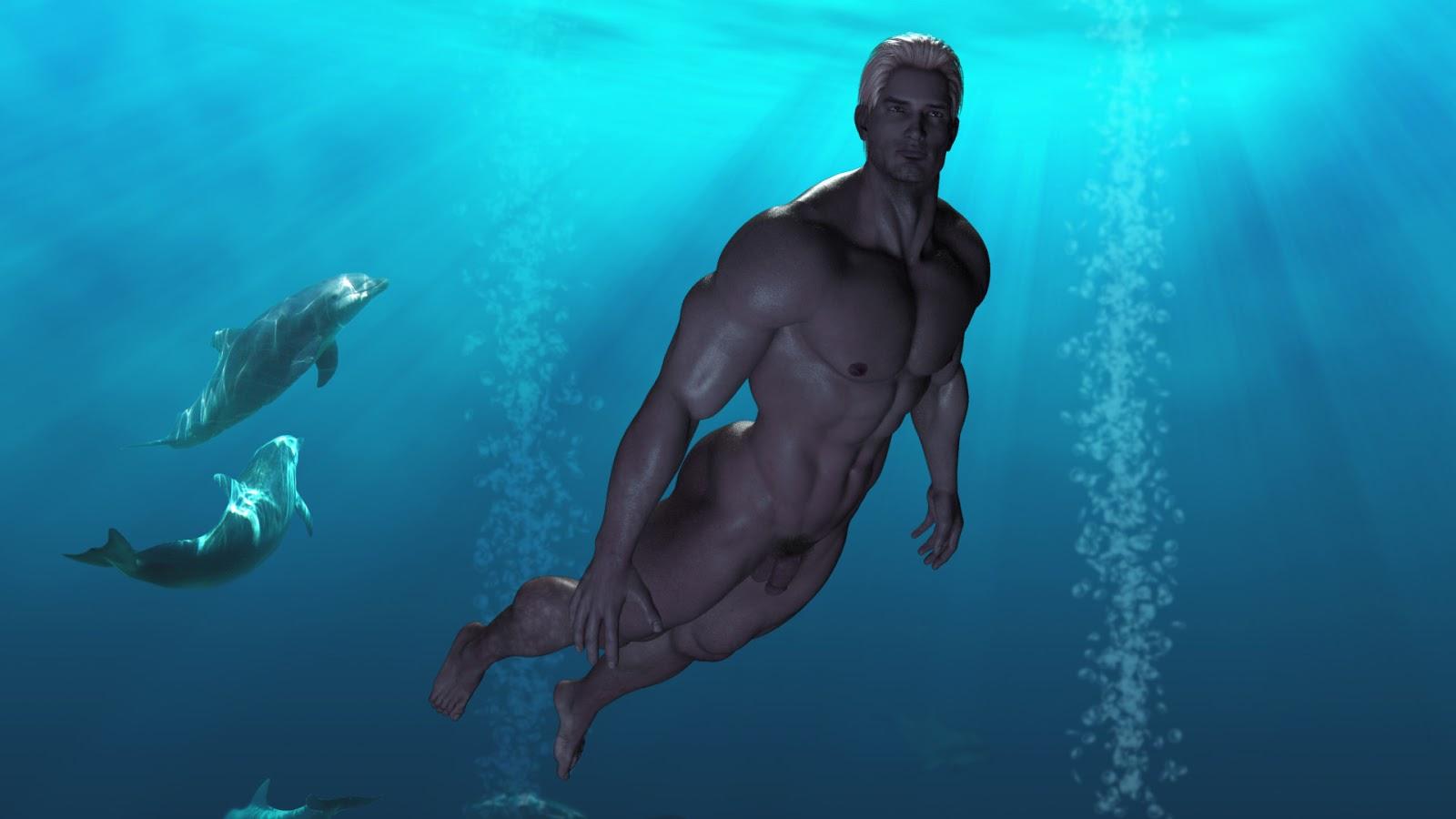 Underwater Naked Nude