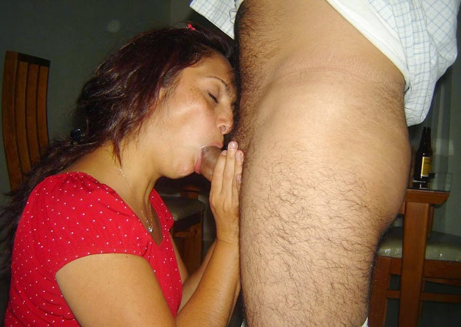 Naked hairy ladies sucking cock
