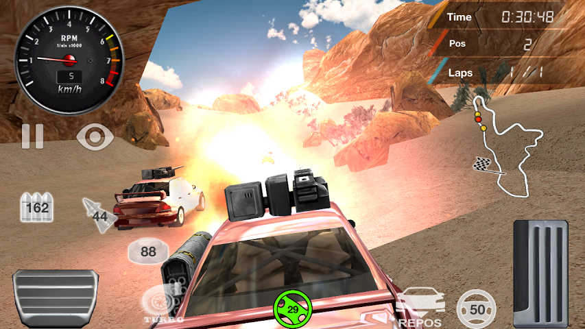 Armored Off-Road Racing Gameplay