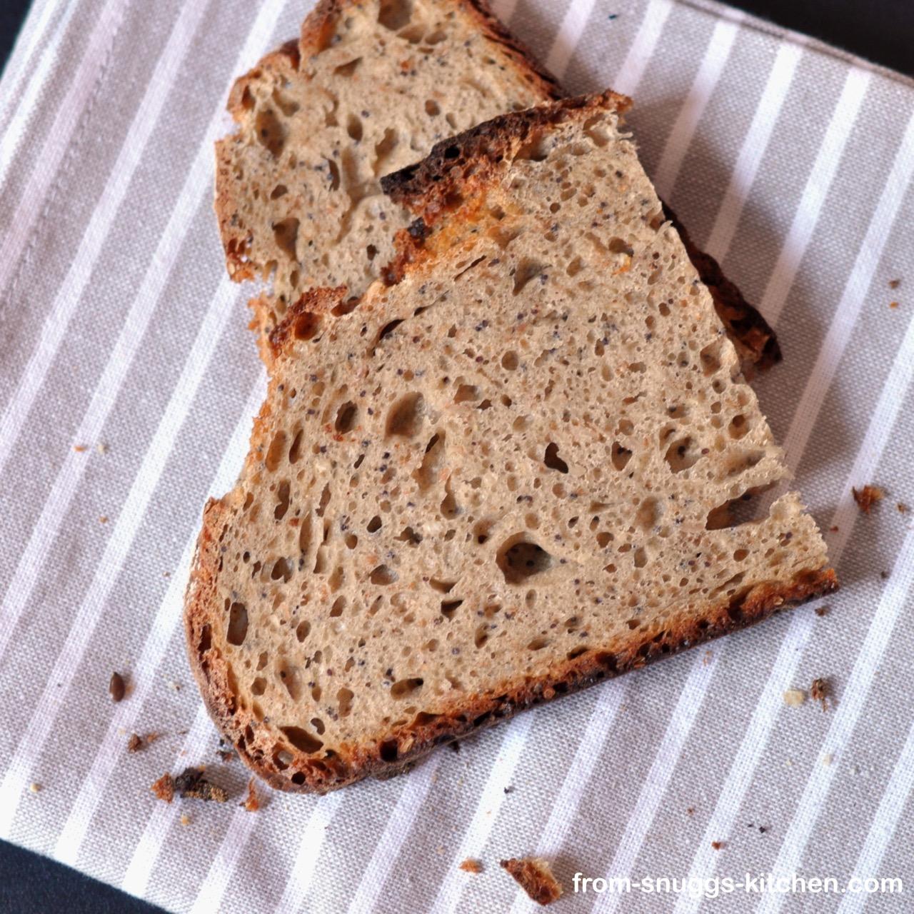 spelt-rye-bread with clabbered milk