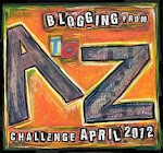 A to Z Blogging Challenge Button