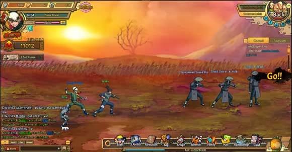 Conheça Ultimate Naruto e jogo com a sua personagem favorita