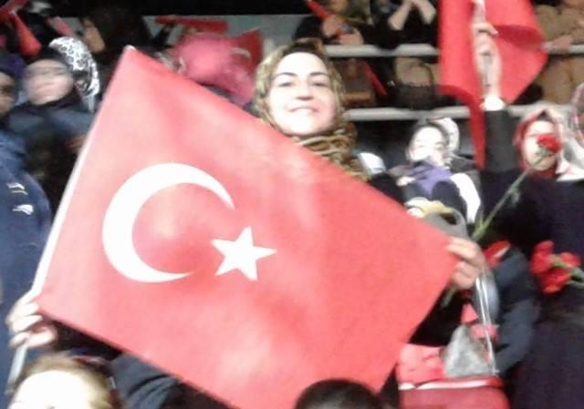 Al Kırmızı Türk Bayrağı