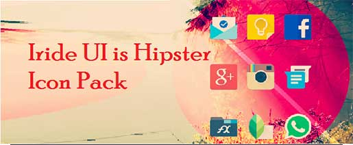 Iride UI is Hipster Icon Pack v1.2.4 Apk Full
